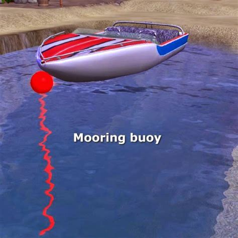 boat mooring game simming in magnificent style mooring bouy