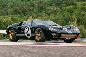 after 50 years the 66 le mans winning ford gt40 is reborn