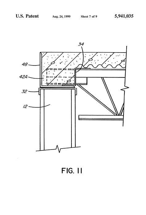 joist section patent us5941035 steel joist and concrete floor system