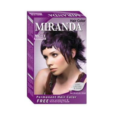 Harga Miranda jual miranda hair color mc13 purple 30 ml