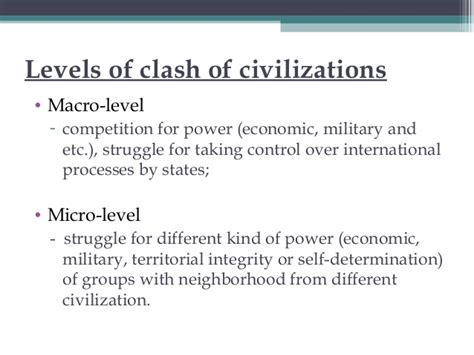Clash Of Civilizations Essay by Essay On The Clash Of Civilizations