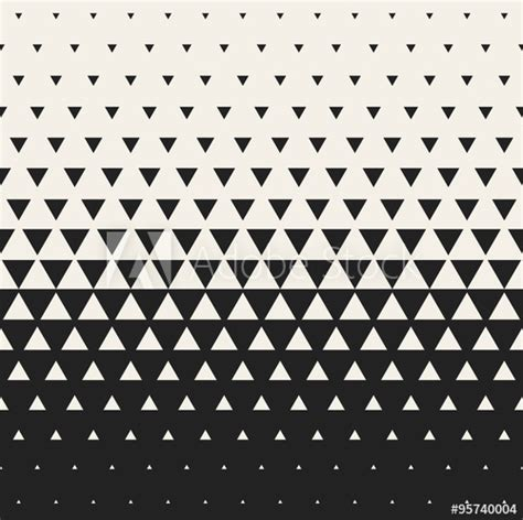 triangle pattern illustrator download vector seamless black and white morphing triangle halftone