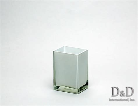 Rectangle Vase by Rectangular Colored Glass Vases