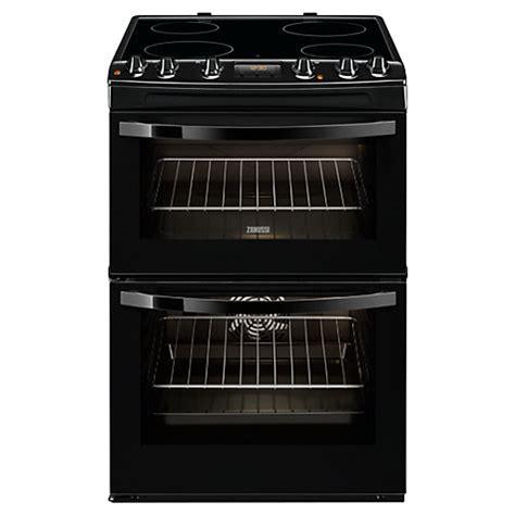 Zanussi Kitchen Malaysia Buy Zanussi Zcv68300ba Electric Cooker Black Lewis