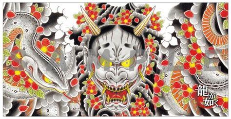 yakuza majima tattoo yakuza 6 merch at tgs 2016 yakuza fan