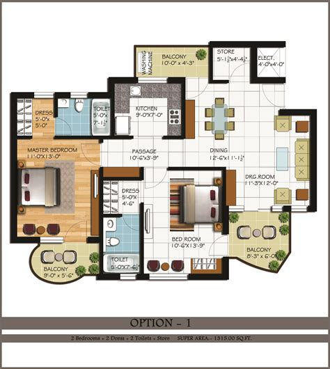 2 bhk plan 2 2 1 bhk flats in zirakpur 2 bhk flats chandigarh 2