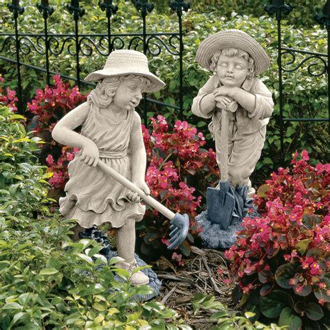 backyard statues children garden statues smalltowndjs com