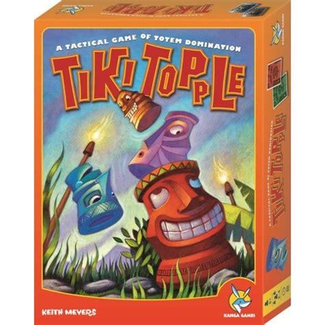 Tiki Topple boardgames tiki topple