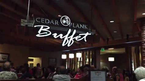 Cedar Plank Buffet At Spirit Mountain Casino Seafood Youtube Spirit Mountain Casino Buffet Hours