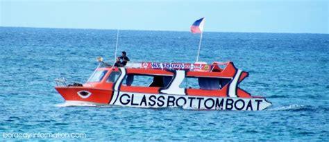 glass bottom boat boracay glass bottom boat boracay islan