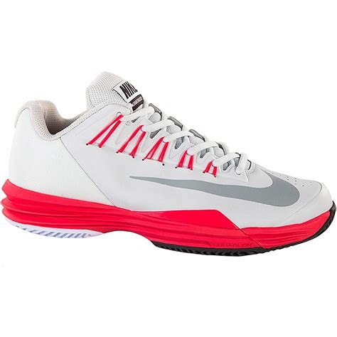 nike lunar ballistec s tennis shoe grey geranium