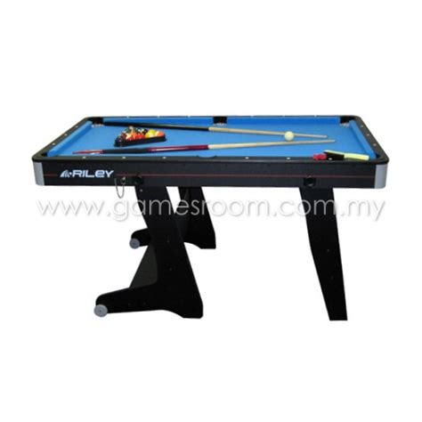 5ft rolling folding pool table