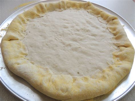Easy Handmade Pizza Dough - stuffed pizza crust southern plate
