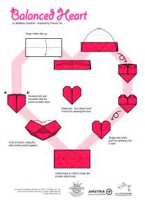 How To Make Paper Hearts Easy - how to make a out of paper step by step easy with