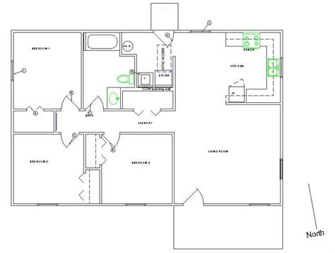Simple Home Blueprints by Home Ideas 187 Simple Home Plans