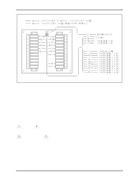 wiring gai tronics  junction box user manual page