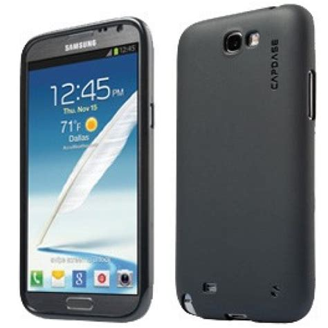 Soft Jacket Slim Black Samsung J7 Jual Capdase Samsung Galaxy Note Ii Soft Jacket Silicon