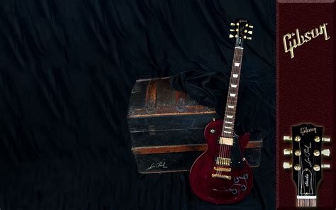 gibson guitar treasured les entertainment  hd desktop wallpaper