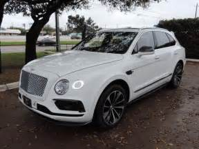 White Bentley Suv Best 25 Bentley Suv Ideas On Bently Car
