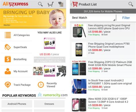 shopping apps for android top 10 iphone and android shopping apps for 2013 countdown