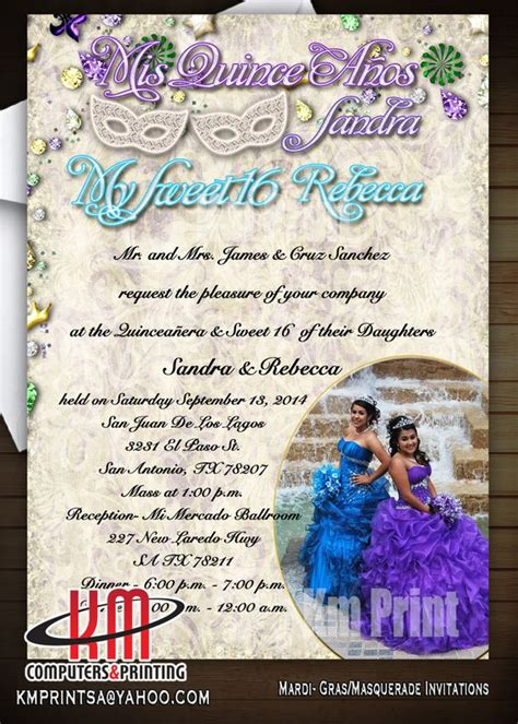 Wedding Invitations In San Antonio by Km Print Custom Invitations San Antonio Custom