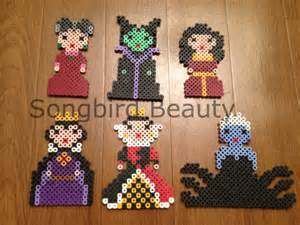 items similar to disney villains perler beads geekery magnet christmas ornament kawaii