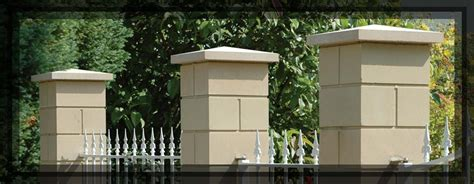 Exceptionnel Quelle Plante Pour La Salle De Bain #5: piliers-de-cloture-lisses-en-pierre-reconstituee-weser.jpg