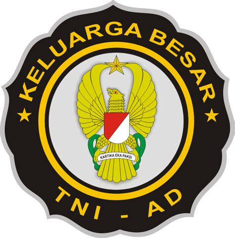 Stiker Sticker Plat Keluarga Besar Kopassus gambar stiker tni ad kumpulan logo indonesia