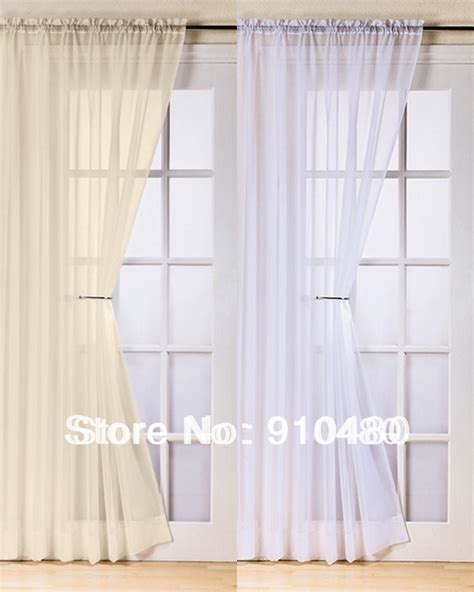 french voile curtain panels aliexpress com buy beautiful french door curtain rod