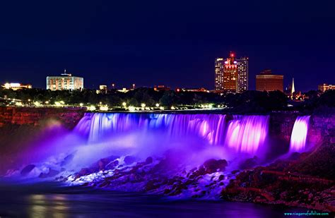 niagara falls night photos of niagara falls
