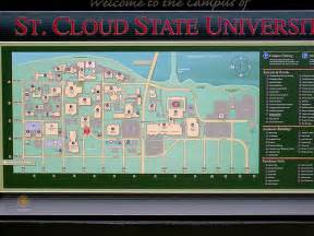St Cloud State Campus Map by Map Of Campus St Cloud State University It Is Larger