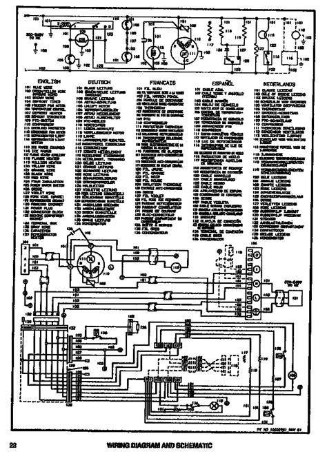whirlpool upright freezer wiring diagram get free image
