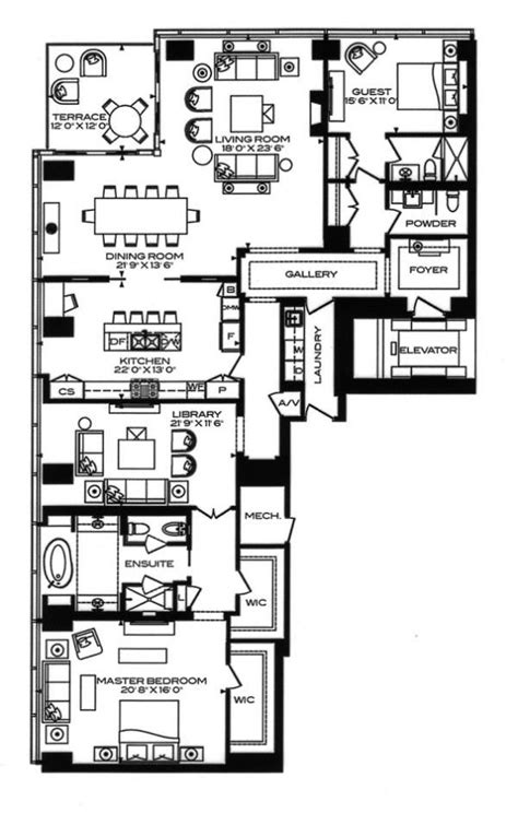 four seasons toronto floor plans the 25 best condo floor plans ideas on pinterest
