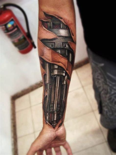 biomech tattoos 25 best ideas about biomechanical on