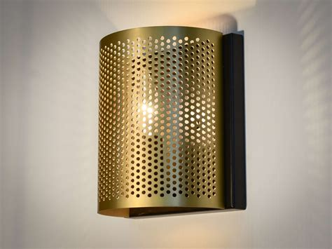 Brushed Gold Wall Sconces Gold Brushed Wall Sconce Karice