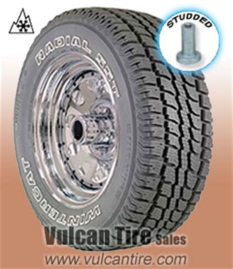 dean wintercat radial sst studded 275/60r20 119s tires