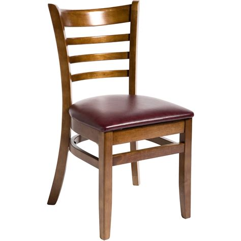 Restaurants Furniture by Wood Ladder Back Restaurant Chair