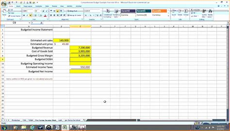 spreadsheet 27 income statement examples templates singlemulti step