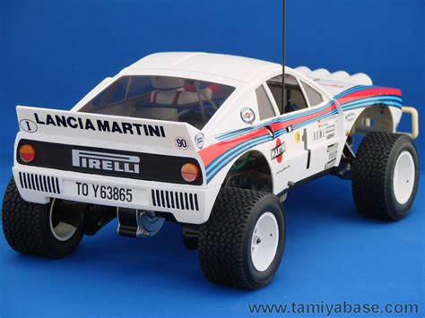 Tamiya Lancia Rally 58040 Tamiya Model Database Tamiyabase