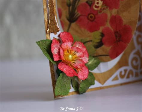 Handmade Paper Flowers Tutorial - cards crafts projects 5 1 15 6 1 15