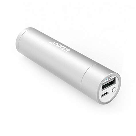 Original Anker A1104651 Lipstick Mini Powerbank Powercore 3350mah from usa anker powercore mini 3350mah lipstick sized portable charger 3rd generation