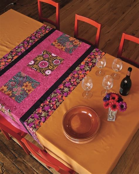 Keepsake Quilting Sweepstakes by Color Block Tablecloth Keepsake Quilting