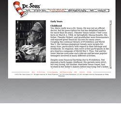 biography dr seuss read across america dr seuss pearltrees