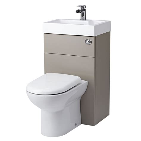 bathroom with two toilets milano 2 in 1 toilet basin combination unit stone grey