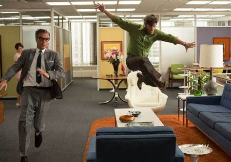 Mad Men Brings Together An Office On Uppers And Flashbacks To   mad men brings together an office on uppers and