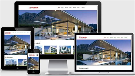 home design websites free real estate website templates free download webthemez