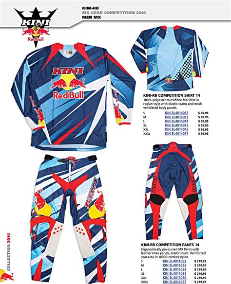 kini motocross gear mx gear men kid kini redbull kinirb kini rb