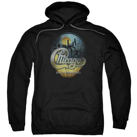 Hoodie Fame Chicago Zc chicago hoodie live black sweatshirt hoody chicago live