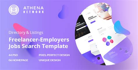 themeforest jobcareer themeforest athena v1 0 freelancer and employers jobs