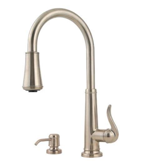 pfister gt529ypk ashfield pull down sprayer kitchen faucet pfister gt529 ypk ashfield single handle pull down kitchen